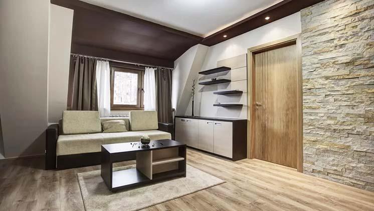 Варианты отделки квартир